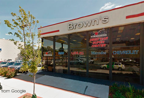 Brown's Used Car, Columbia Pike