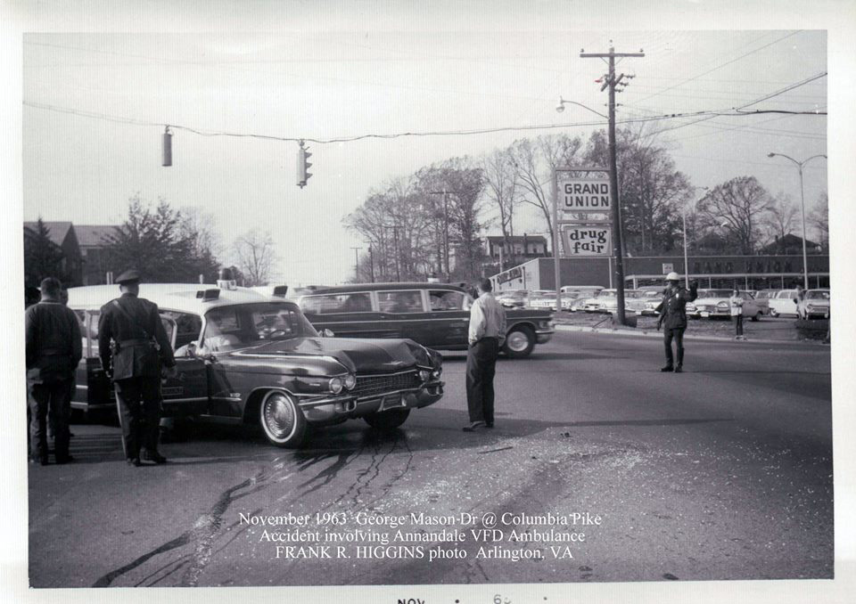 Walter Reed & Columbia Pike 1963