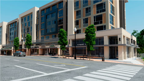 2400 Columbia Pike - Drawing