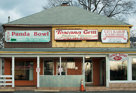 Panda Bowl, Toscanna Grill, City Kabob, Columbia Pike