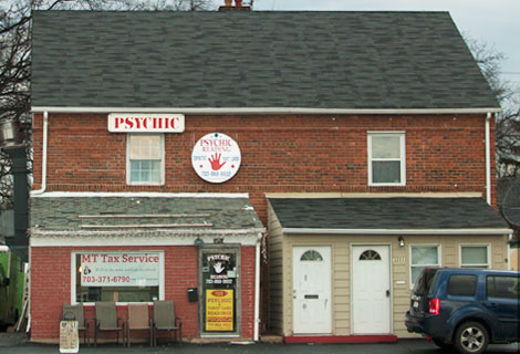 Psychic, Columbia Pike